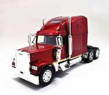 Newray 1:32  Freightliner Classic XL Diecast Truck Trailer Model Wine Red