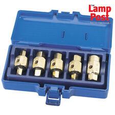 Draper 56627 Coche Eje Caja De Cambios Drenaje Cárter De Aceite Enchufe Clave Set Kit Herramientas 5 PC del vehículo