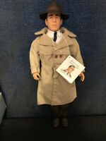 "Effanbee 1988 Humphrey Bogart 16"" Vinyl Portrait Doll Legend Series"