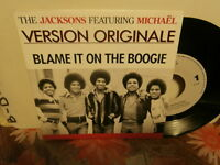 """the jacksons featuring michael""""blame it on""""sgle7""""or.fr.epic:6556467.de 1990 rare"""