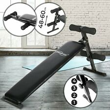 Sit-Up Bank Klapp / Verstellbar Bauchtrainer Trainingsbank Fitness Rückentrainer