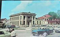 "Postcard ""View of Independence Square, Port of Spain, Trinidad, W. I."" 1960s"