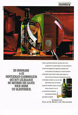 PUBLICITE ADVERTISING 064 1987  GLENFIDDICH    whisky