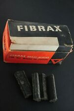 Vintage Fibrax No 70 brake blocks in box. New old stock x22 pairs.