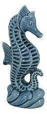 Seepferdchen- glasiert- Maritime Deko- Figur