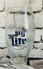 Football Shaped Beer Mugs 4 Miller Lite Cups Tumblers Great Day Game Glasses