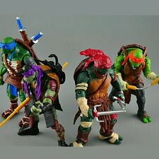 Toy 4 pieces/lot Teenage Mutant Ninja Turtles PVC Action Figure TMNT Model