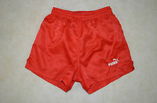 PUMA SPRINTER NYLON RUNNING SHORTS OLDSCHOOL VINTAGE RETRO SHINY 70s 80s D2 XS