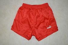 PUMA SPRINTER NYLON Running Pantaloncini Oldschool Vintage Retro lucido anni'70'80 D2 XS