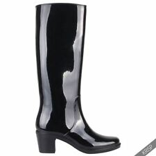 High (3 in. and Up) Rubber Boots for Women