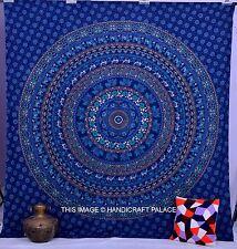 LARGE tapisserie mandala psychédélique hippie tenture murale Couvre lit indien