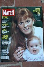 PARIS MATCH 2080 06/04/1989 Rourke Jung Fergie Elstine
