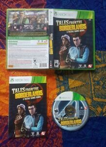 Tales From the Borderlands (Microsoft Xbox 360, 2016) A Telltale Game Series