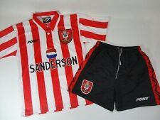 Southampton Saints Home Football Shirt 1995/97 Adults Small Pony Sanderson RARE