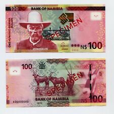 NAMIBIA N$ 100 - Specimen Banknote 2012 Issue in UNC condition