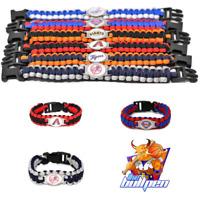 *NEW* MLB Team Logo Paracord Survivor Bracelet