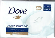 4 Bars of Dove Original Beauty Cream Soap With Moisturiser.Large 100g Bars