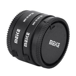 Macro Extension Tube Rings Lens Adapter Kit for Nikon 1 Mount Camera