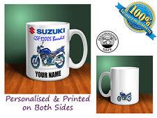 Suzuki GSF1200S Bandit Motorbike Personalised Ceramic Mug Gift (MB089)