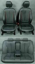 BMW 3er F30 Sitze seats Lederaustattung Sportsitze Unfallfrei Akzent red Dakota