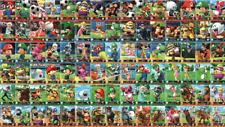 Mario Sports Superstars Amiibo Cards - You Pick - Nintendo 3DS