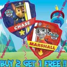 "25 Latex Paw Patrol 18"" Nickelodeon Mylar Balloon Red Chase & Marshall Balloons"