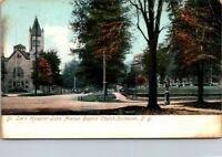 Postcard Dr Lee's Hospital Lake Ave Baptist Church Rochester NY