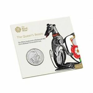 The White Greyhound of Richmond 2021 UK Brilliant Uncirculated Coin