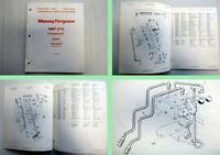 Massey Ferguson MF 276 Seitenmähwerk Ersatzteilliste Parts Book 1973