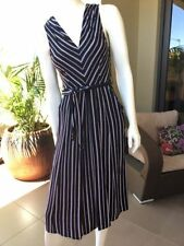 Rayon Wear to Work Striped Clothing for Women