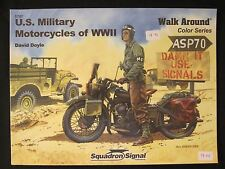 Book: US Military Motorcycles of WWII Color Walk Around  - 200+ photographs