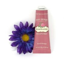 Crabtree & Evelyn Hand Therapy Collection Rose Water 0.9 oz. Travel Size, New