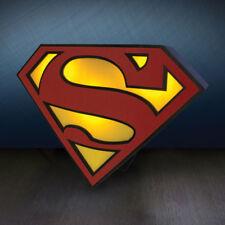 OFFICIAL Licensed DC Comics Superman Logo luce di stato d'animo Lampada scudo di superman