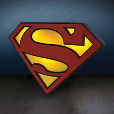 Official Licensed DC Comics Superman Logo Light Mood Light Lamp Superman Shield