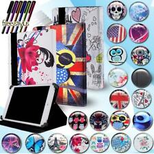 """Universal FOLIO LEATHER STAND CASE COVER For Various 7"""" 8"""" 10"""" Tablet + Pen"""