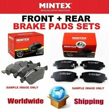 MINTEX FRONT + REAR PADS SET for MINI CLUBMAN Cooper S JCW ALL4 2014->on