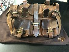 Classic Mulberry Roxanne Bag in tan leather