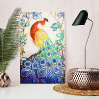 Peacock 5D DIY Special Shaped Diamond Painting Cross Stitch Embroidery de Dt