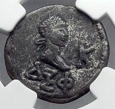RHESKUPORIS IV & GALLIENUS 267AD Stater Bosporus King Greek Type Coin NGC i60231