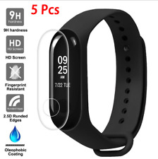 5pc Tempered Glass Screen Belt Hole Screen Protector Film for XIAOMI Mi Band 3