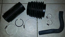 VOLVO PENTA BELLOWS KIT FOR SX DP-S DP-SM : 2 X BELLOWS WATER PIPE AND ALL CLIPS