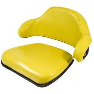 2 Piece Yellow Seat Cushion Set Fits John Deere 310 310A 310B 401 Backhoe Loader