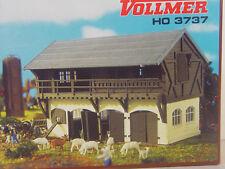 Ziegenstall mit Ziegen - Vollmer  HO  Bausatz 1:87 -    3737   #E