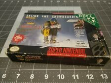 Tommy Moe's Winter Extreme Skiing & Snowboarding Snes box only