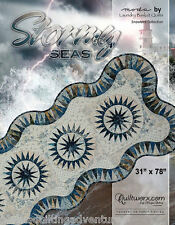 Table Runner Pattern ~ STORMY SEAS ~ by Judy Niemeyer Quilting