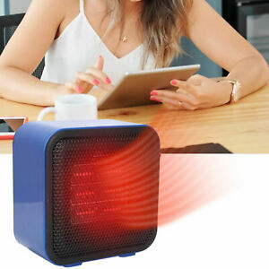 Mini Portable Fast Heater Heated Heating Electric Hot Air Fan Space Desk