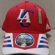 Los Angeles Clippers NBA Adidas Flex Fit Hat   Cap - Large   XL Free Ship 064c4b543842