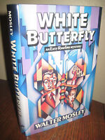 White Butterfly Walter Mosley SIGNED 1st Edition Mystery Easy Rawlins Crime