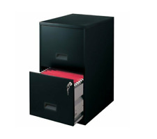 2 Drawer Steel File Cabinet With Lock Black For Home Amp Office Use