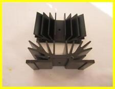KÜHLKÖRPER  Profilkühlkörper Aluminium schwarz ca.70x25x37,5mm  1 Stück